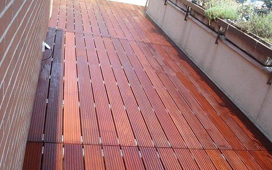 tabel Harga Lantai kayu Outdoor per meter 2018