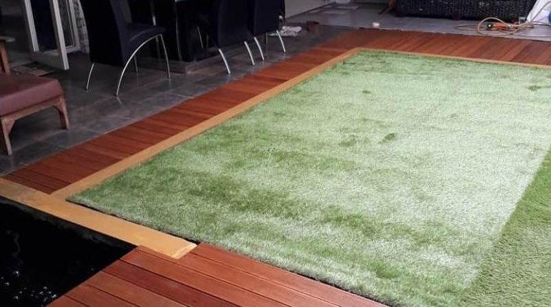 Proyek Pemasangan Decking Kayu Bengkirai Bandung
