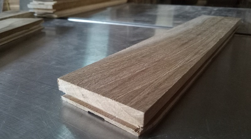 harga lantai parket lantai kayu jati Grade B 25 cm