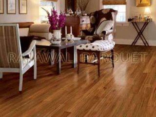 lantai kayu parket ruang tamu