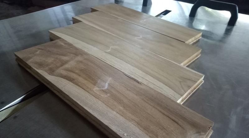 harga lantau Flooring kayu jati Grade B 4