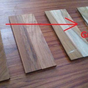 harga parket lantai kayu jati Grade ABC