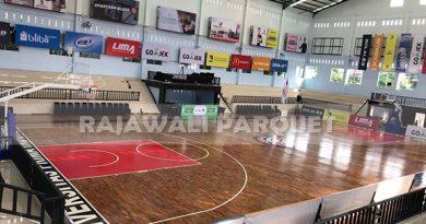 Biaya pasang Lantai kayu untuk lapangan Basket