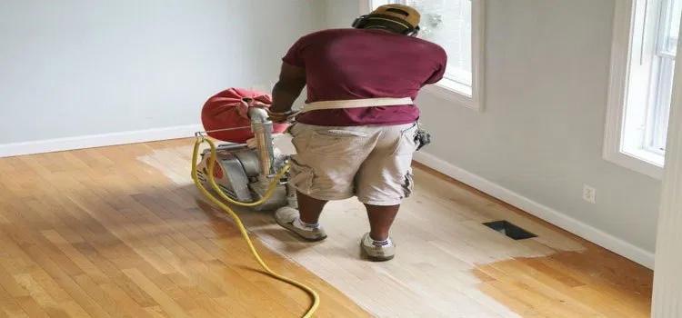 pembaharuan ulang lantai kayu