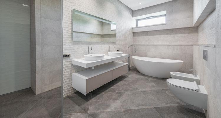 desain lantai kamar mandi minimalis
