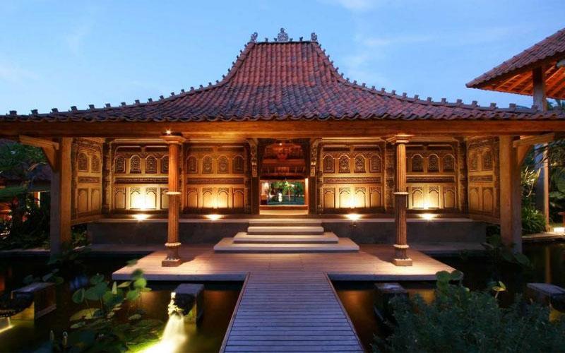 desain rumah adat Indonesia