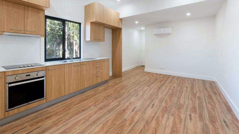tentukan ruangan yang akan di terapkan lantai parket