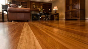 lantai kayu atau parket lantai