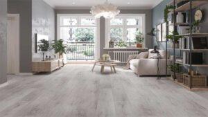 Lantai vinyl motif kayu terkesan dimanis dan minimalis