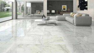 lantai marmer dapat memberikan kesan mewah pada hunian minimalis