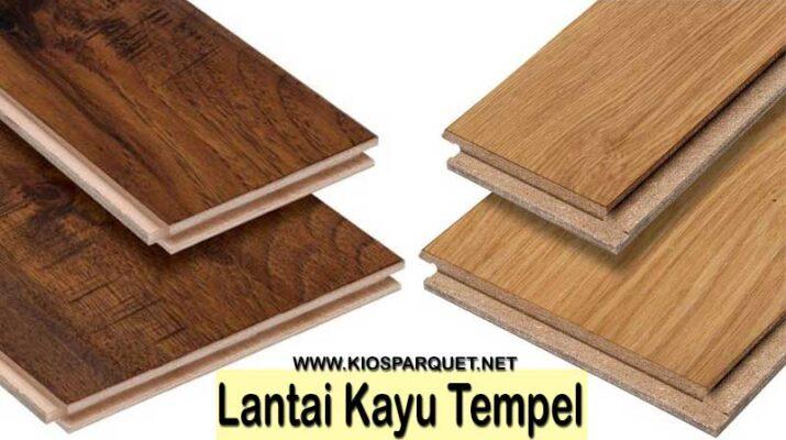 produk lantai kayu tempel
