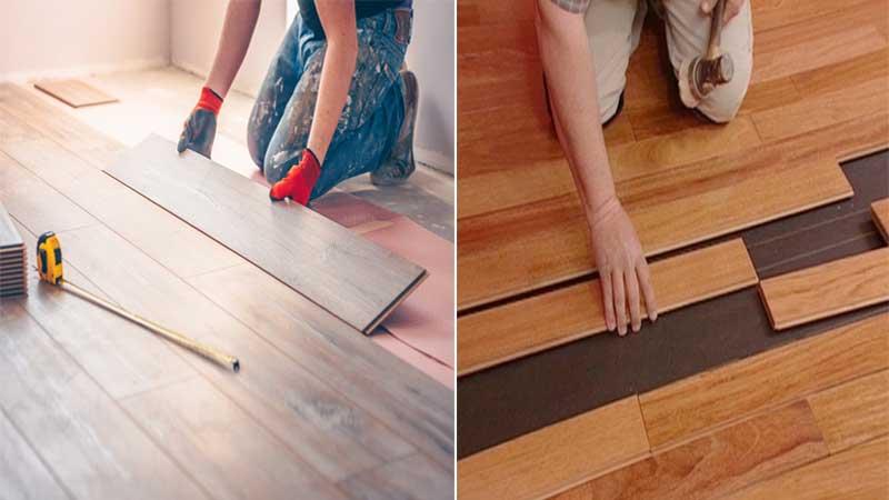 memilih lantai parket atau laminasi?