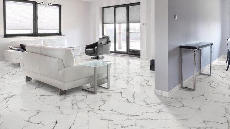 alternatif pilihan terbaik selain lantai keramik yaitu marmer