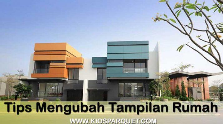 cara merubah tampilan rumah minimalis modern