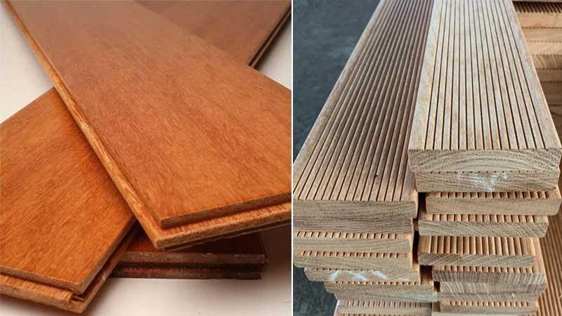 jual lantai kayu kempas & decking outdoor 2021