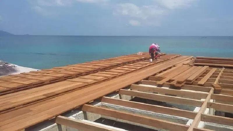 Rekomendasi 3 jenis kayu terbaik untuk pembuatan dermaga