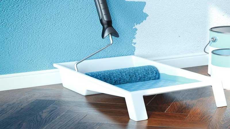 mengganti warna cat rumah modern