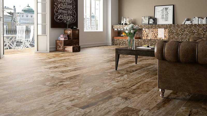 lantai vinyl banyak digunakan untuk menutupi lantai di area dapur dan ruang tengah rumah
